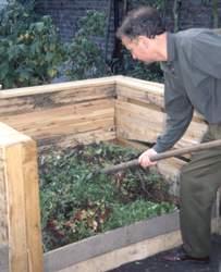 Compost : brassage et m�lange