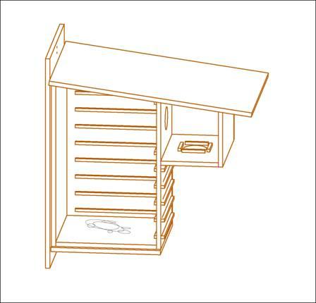 nichoirs pour l 39 cureuil roux. Black Bedroom Furniture Sets. Home Design Ideas