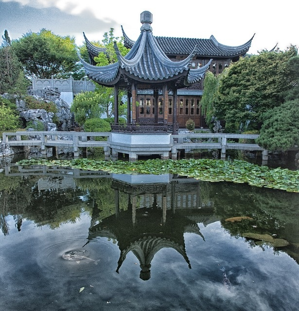 Le jardin traditionnel chinois un art mill naire for Jardin chinois yvelines