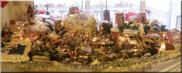 decoration de noel en creche vos plus belles photos sur no l