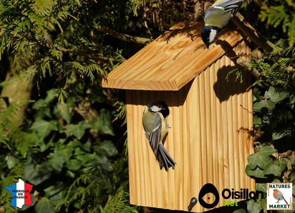 Prendre soin des oiseaux toute l 39 ann e - Nichoir pour oiseaux ...